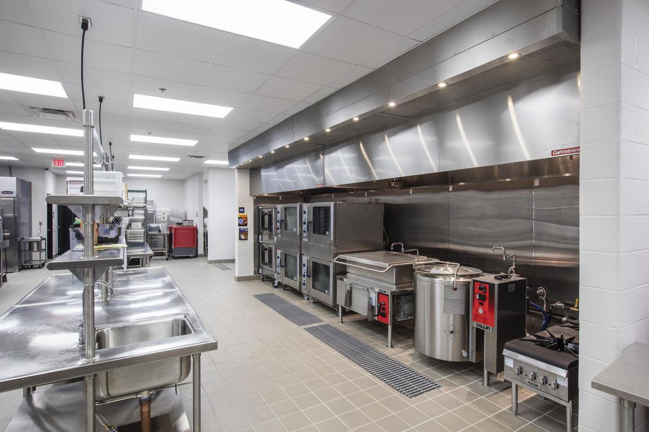 Cafeteria kitchen