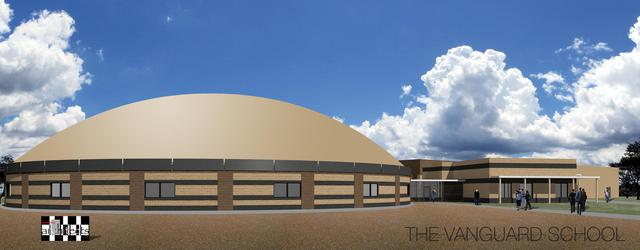 Vanguard school rendering