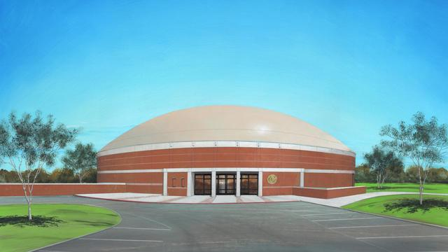 Rendering of Italy High School gymnasium
