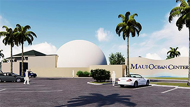 Rendering of the Maui Ocean dome theater