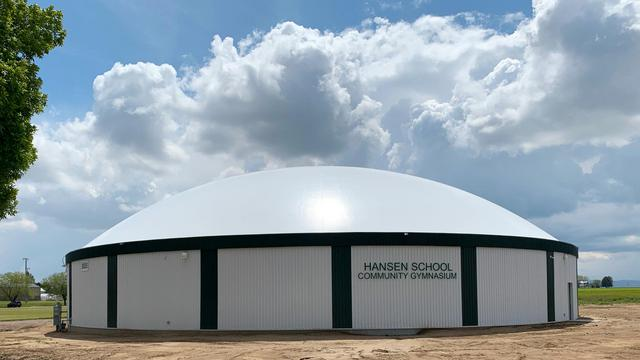 Hansen School & Community Center in Hansen, Idaho