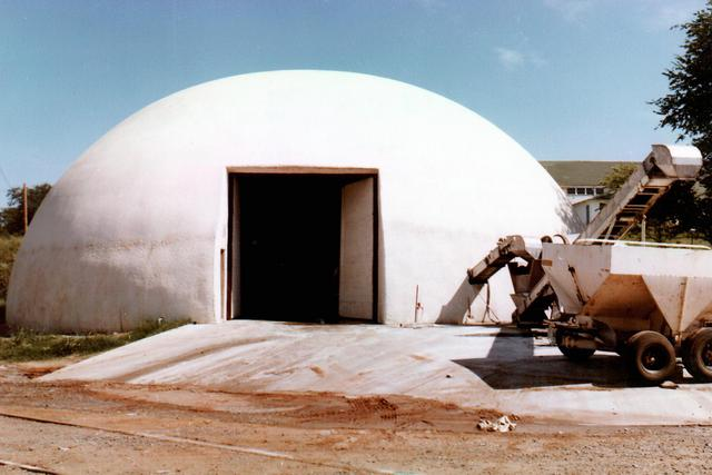 1978 Monolithic Dome fertilizer storage
