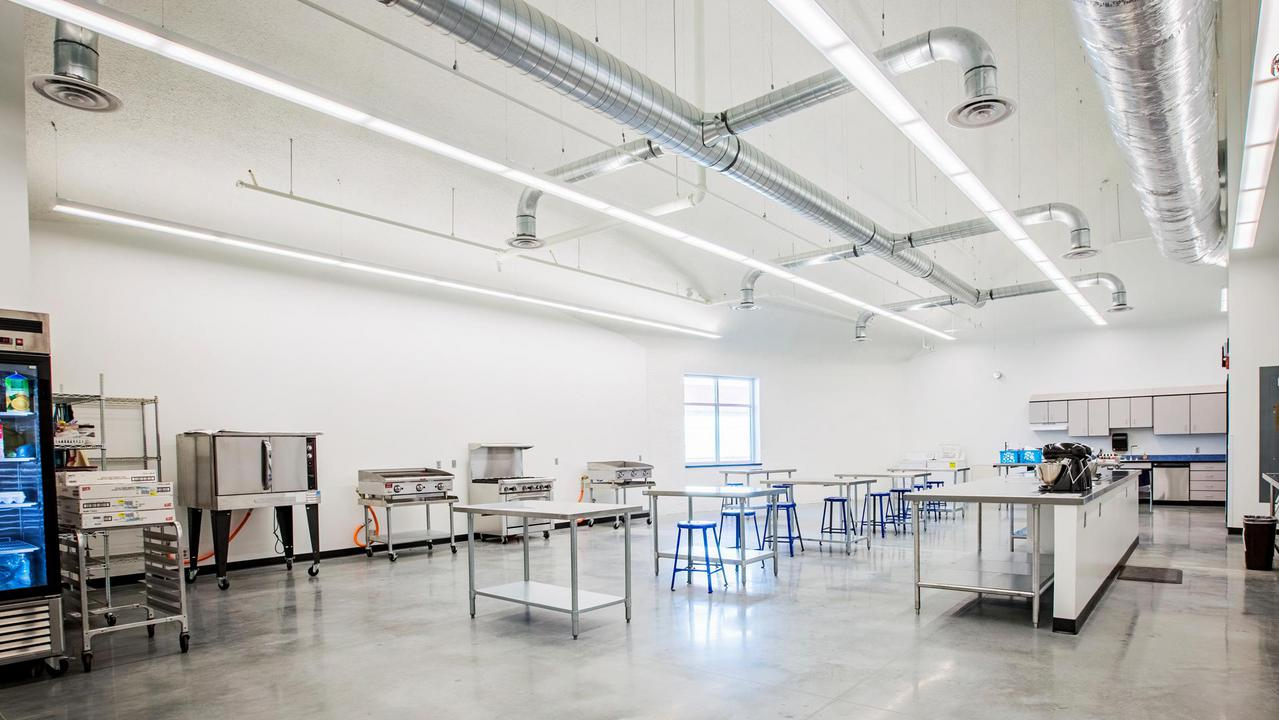 Domestic science classroom